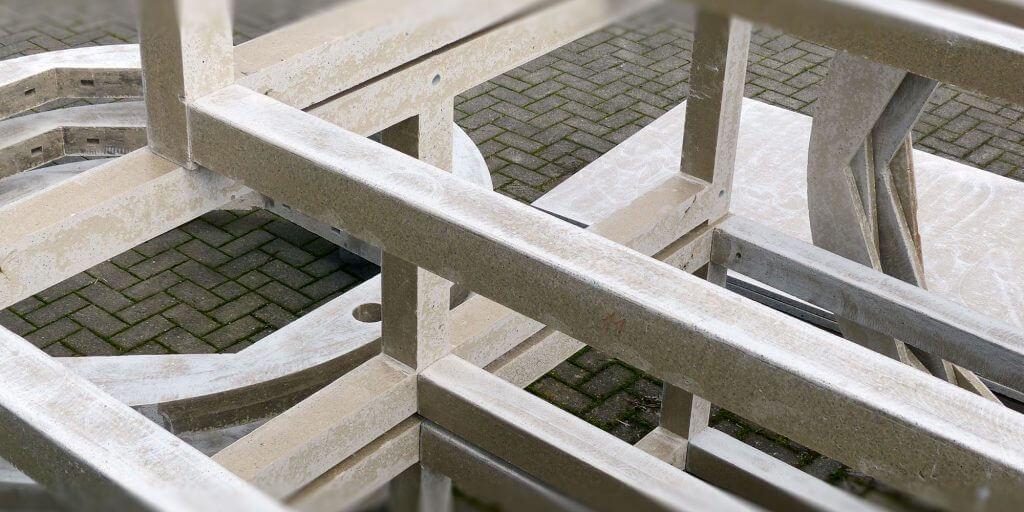 Konstruktionsbauteile für EVA-Trockner