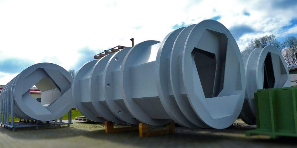 Trommelproduktion am Unternehmen des EVA-Trockners aus Polymerbeton